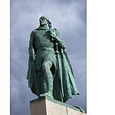 Sculpture, Reykjavík, Leif ericson