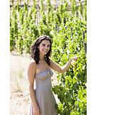 Woman, Harvest, Pick, Vineyard, Harvest Time, Winery, Vineyard