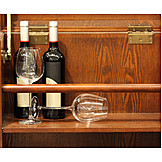 Indulgence & Consumption, Red Wine, Wine Rack