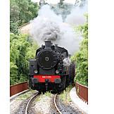 Locomotive, Steam locomotive