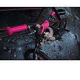 Humor & bizarre, Skull, Bmx cycling