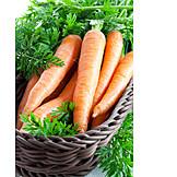 Carrot, Harvest, Organic carrot