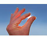 Sunlight, Hand, Capture