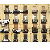 Urban life, Drying, Laundry, Apartment