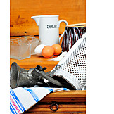 Kitchen utensil, Nostalgia, Baking ingredients