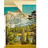 Rooms, Wall murals, Wanderlust