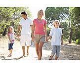 Walk, Family, Family life