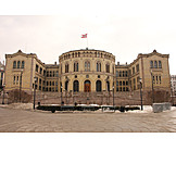 Houses of parliament, Oslo, Parliament of norway
