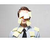 Revised, Adhesive note, Forgetful