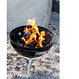 Broiling, Grill, Beach party