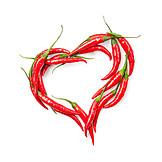Chili, Cordate, Chili peppers