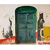Gastronomy, Painting, Door, Advertising