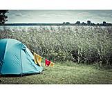 Summer, Tent, Camping, Camping, Summer holidays