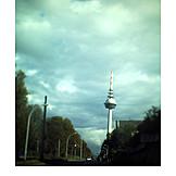 Telecommunications tower, Mannheim