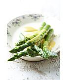 Asparagus, Hollandaise sauce