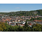 City, City view, Stuttgart