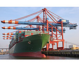 Container ship, Container port, Container terminal