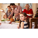 Christmas, Family, Christmas dinner