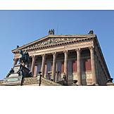 Berlin, Old national gallery, Art museum