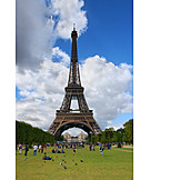 Tourism, Paris, Eiffel tower