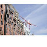 Facade, Hamburg, Crane