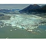 Glacier, Glacial lake, Ice, Kluane national park