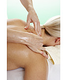 Relaxation, Treatment, Massage, Neck massage