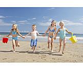 Child, Summer, Friends, Beach Holiday, Summer Holidays
