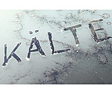 Winter, Cold, Frozen