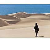 Holiday & Travel, Desert, Sandy Desert, Dunes, Namibia