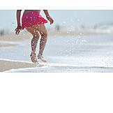 Child, Summer, Jump, Injecting, Summer holidays