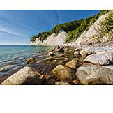 Rügen, Baltic sea coast, National park jasmund