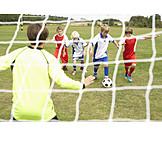 Soccer, Goaltending, Gate, Soccer field