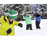 Winter, Snowball Fight