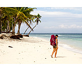 Holiday & Travel, Beach, Travel, Tourist, Backpacker