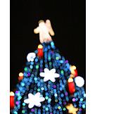 Christmas, Christmas Tree, Christmas Lights