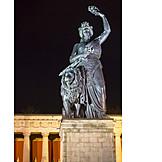 Memorial, Statue, Bavaria