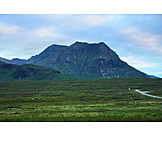 Highlands region, Rannoch moor