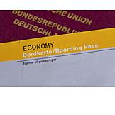 Holiday & Travel, Passport, Boarding Pass
