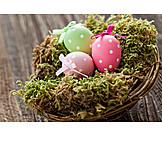 Easter, Easter egg, Easter nest, Easter decoration