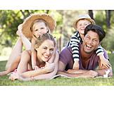 Park, Summer, Family, Family Life