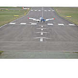 Airfield, Airplane takeoff