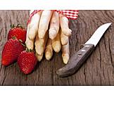 Strawberry, Asparagus, Season