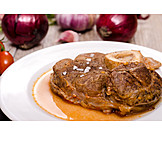 Beef, Hearty, Veal shank