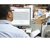 Logistics, Control, Sales, Mail order company