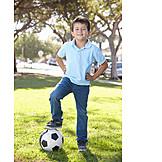 Boy, Child, Soccer