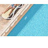 Summer, Vacation, Swimming Pool, Sunbathing