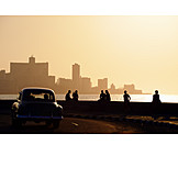 Holiday & Travel, Silhouette, Cuba