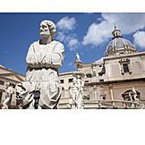 Sculpture, Fountain figurine, Fontana pretoria