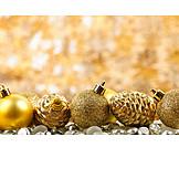 Copy Space, Christmas, Christmas Ball, Christmas Tree Decorations